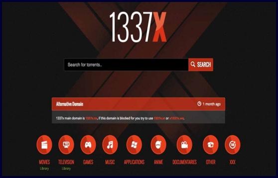 1337x- torrent sites