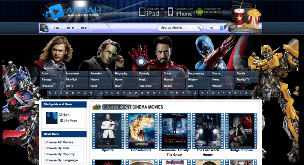 Afdah - Free Movie Sites 2019