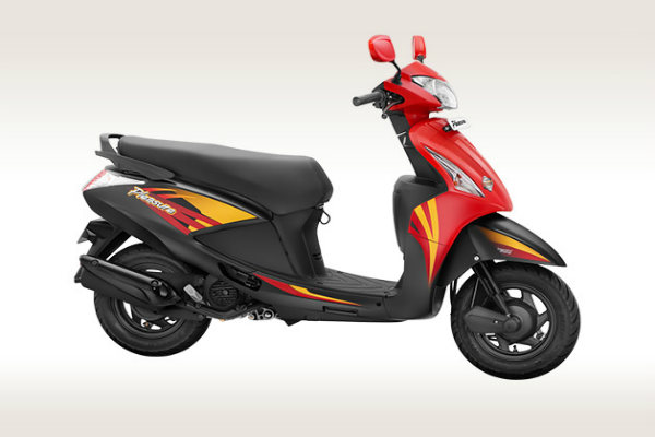 Hero Pleasure - Best Light Weight Scooty for Girls
