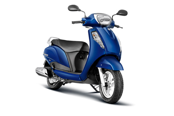 Suzuki Access 125 - best lightweight scooty for girls in 2019