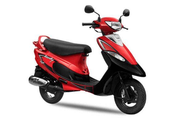 TVS Scooty Pep plus for short girls