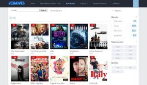 VexMovies – Free Movies Website