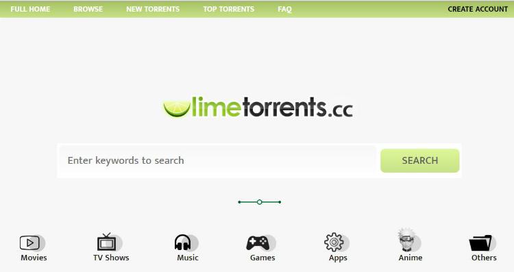 Limetorrents proxy sites
