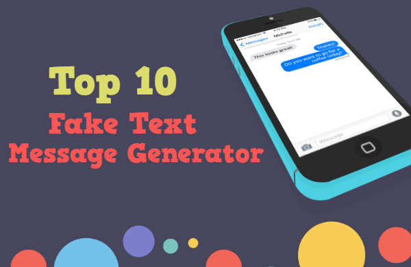 Fake Text Message Generator