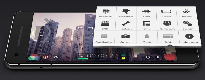 Features Filmic Pro Apk