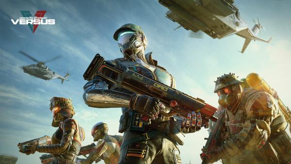 Modern Combat Versus: Best Online Multiplayer FPS