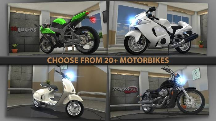 Traffic Rider Hack Apk