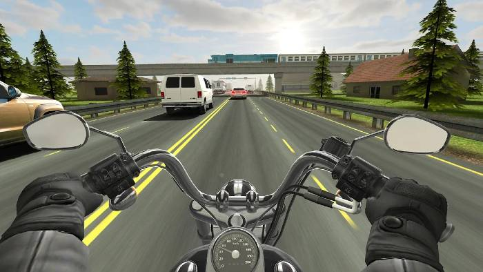 Traffic Rider Unlimited Money Mod