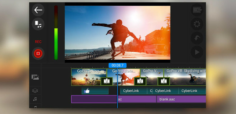 CyberLink PowerDirector Video Editor for Android