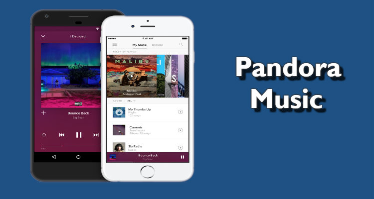 pandora music apk download