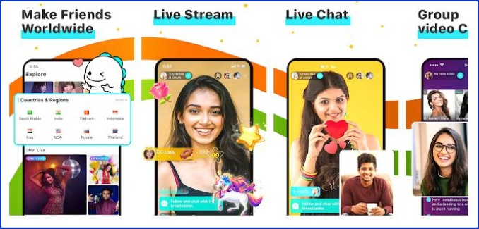 BIGO LIVE – Live Stream, Video Chat, Make Friends