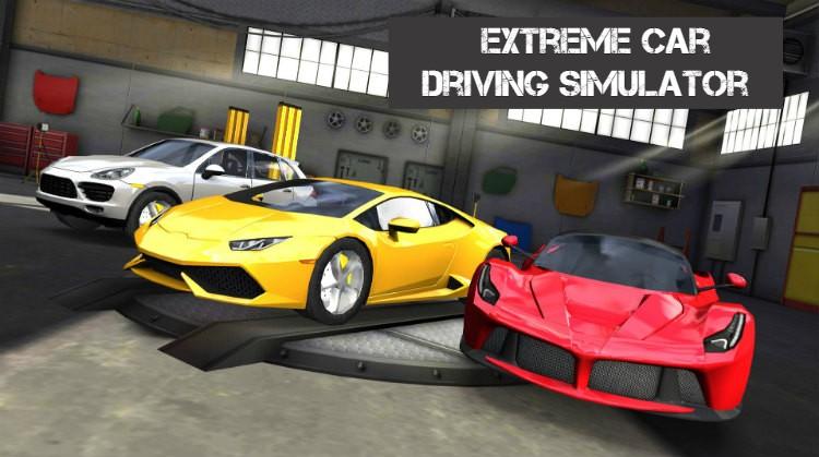 Download Extreme Car Driving Simulator apk