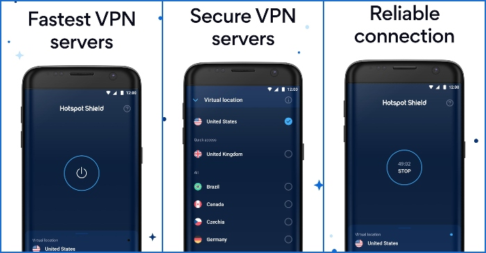 Hotspot Shield Free VPN Proxy & Wi-Fi Security