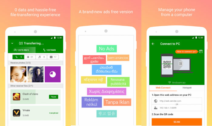 Download Xender - Transfer Files free for Android