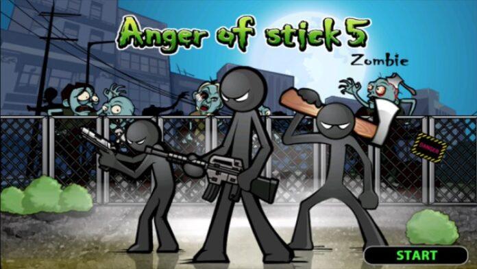 Anger of Stick 5: Zombie Mod Apk