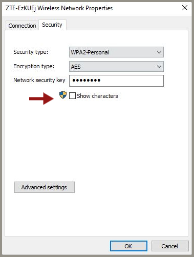 view saved Wi-Fi passwords in Windows