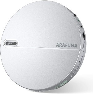 ARAFUNA Anti-Skip Protection Portable CD Player