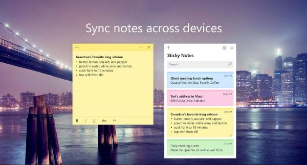 Microsoft Sticky Notes