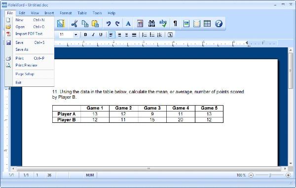 AbleWord PDF Editor