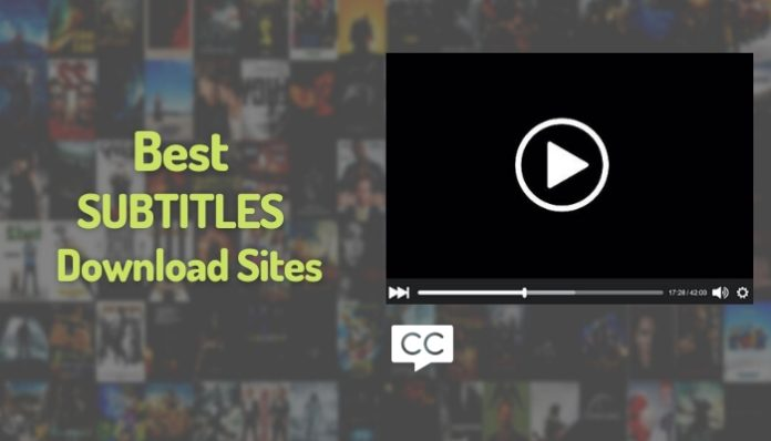 Best Subtitles Download Sites Free