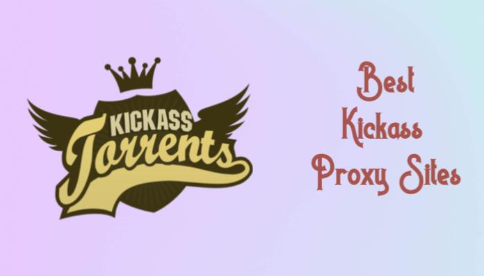 Kickass proxy list